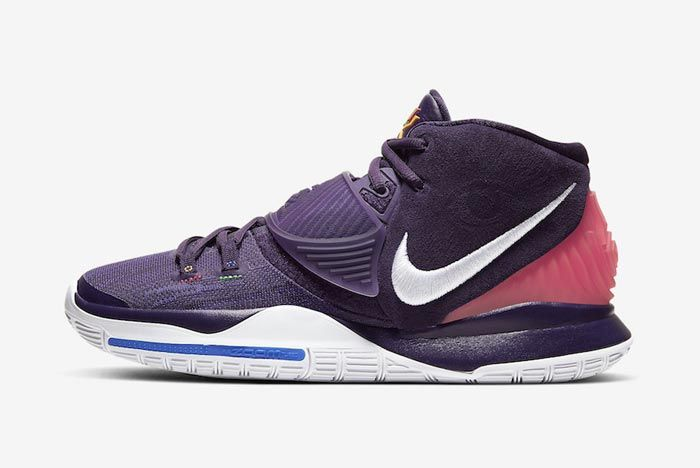 Nike Kyrie 6 Grand Purple Lateral
