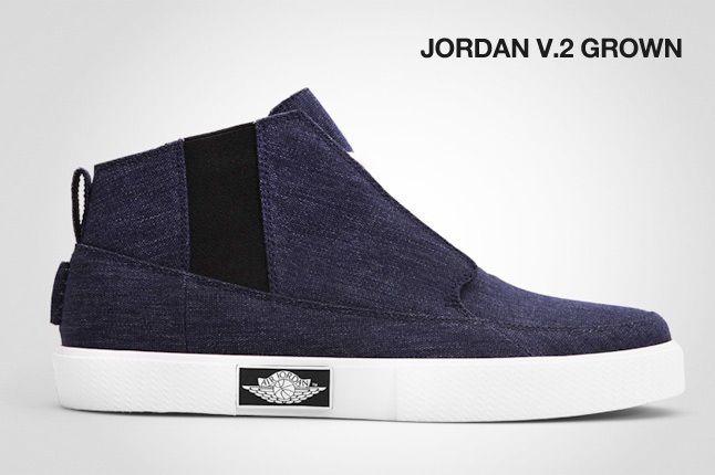 Jordan V 2 Grown 1