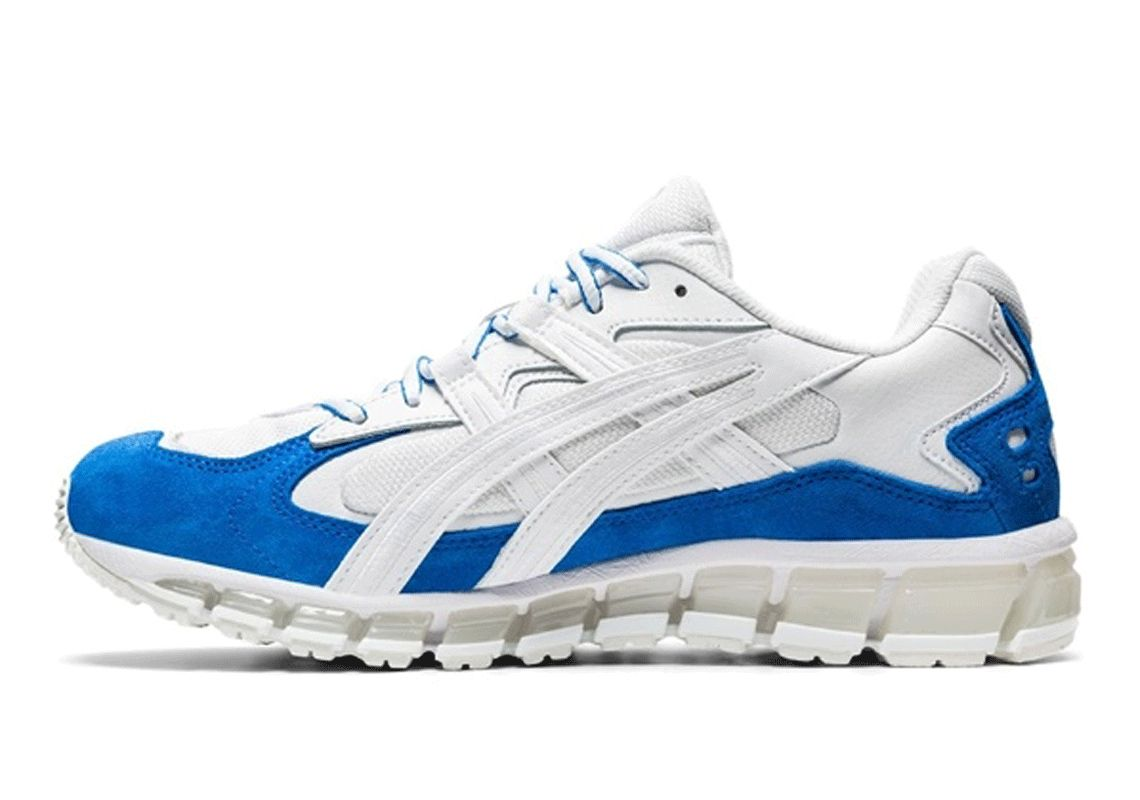 ASICS GEL-Kayano 5 360 Electric Blue Left