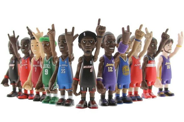 Mindstyle Coolrain Nba Series 2 Vinyl Toys Complete 1