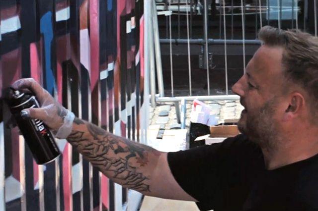Boxpark Graffiti– Aroe Gary Msk 1