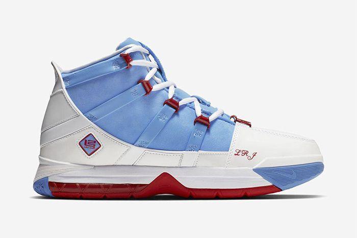 Nike Lebron 3 Houston Oilers 2019 Retro Ao2434 400 Release Date Medial