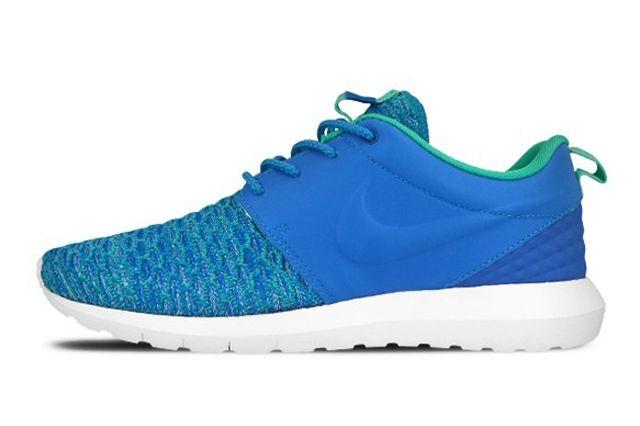 Nike Roshe Nm Flyknit Premium Soar Blue Atomic Teal 4