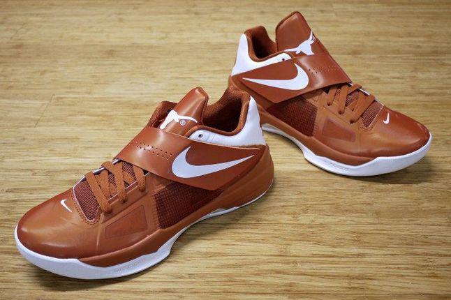 Nike Zoom Kd 4 Texas Longhorns 01 1