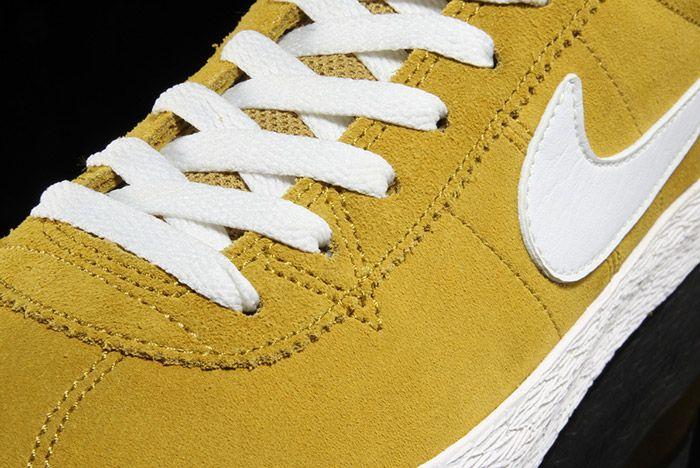 Nike Sb Bruin Premium Peat Moss Yellow 4