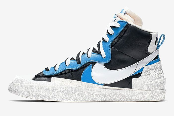 Sacai Nike Blazer Wafle Side Shot 12