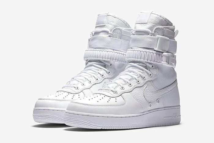 Nike Sf Af1 Triple Whitefeature