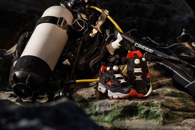 Hal Reebok Pump Fury Frogman 31