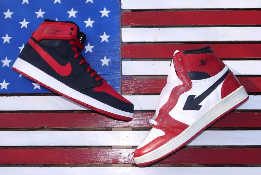 Air Jordan 1 Sang Knock Off 2