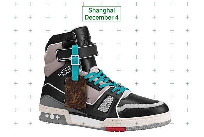 Virgil Abloh Louis Vuitton Lv408 Shanghai