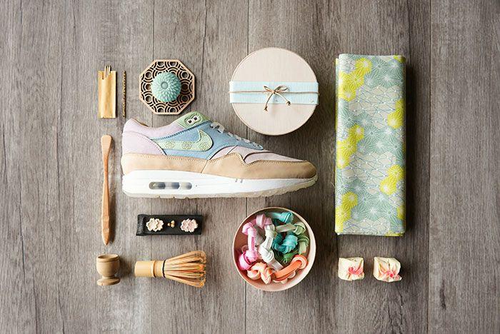 Chase Shiel Ryustyler Nike Air Max 1 Custom Wagashi Food Shot4