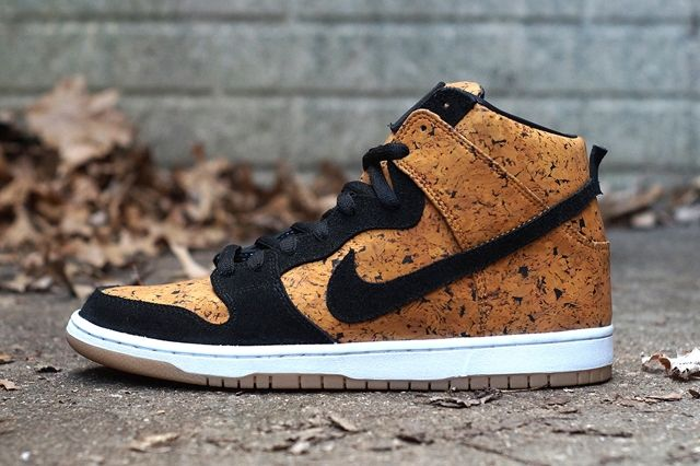 Nike Sb Dunk High Custom By Jbf Customs Cork Thumb