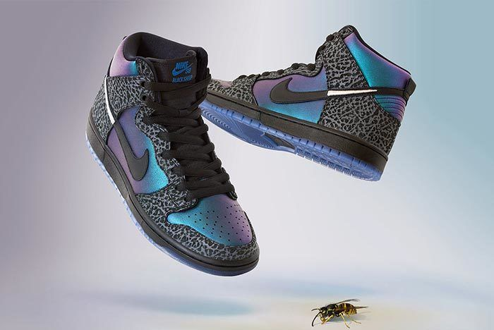 Black Sheep Nike Sb Dunk Black Hornet Close Side Shot