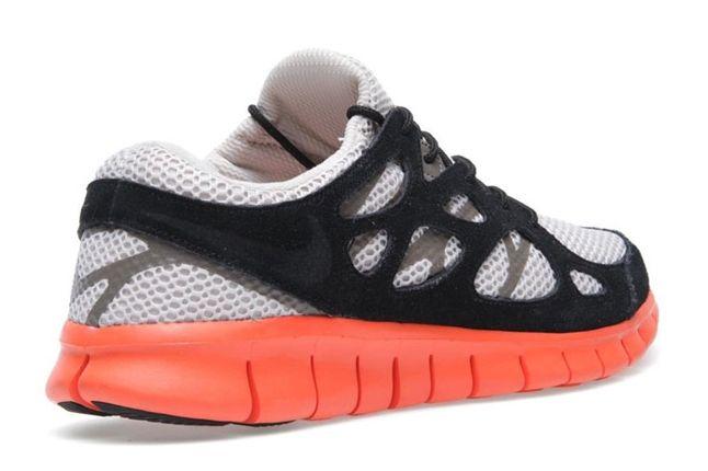 Nike Free Run 2 Ext Electric Orange Heel Profile 1