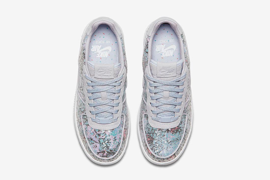 Nike Air Force 1 Upstep Low Glass Slipper 4