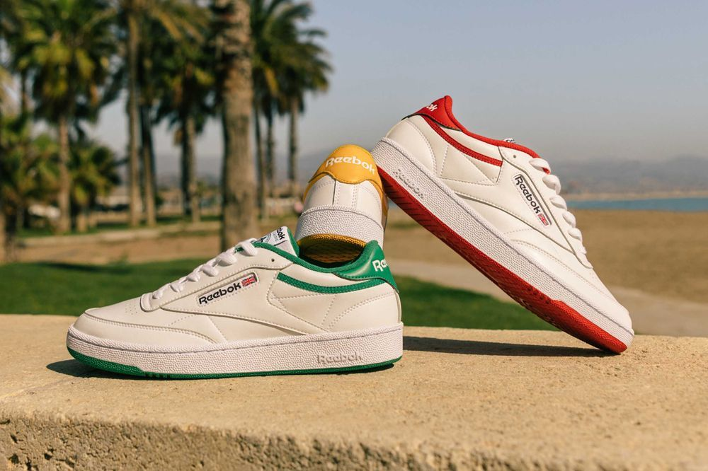 Reebok Club C Colour Pack Angled