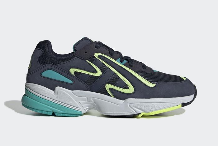 Adidas Yung 96 Chasm Collegiate Navy Lateral