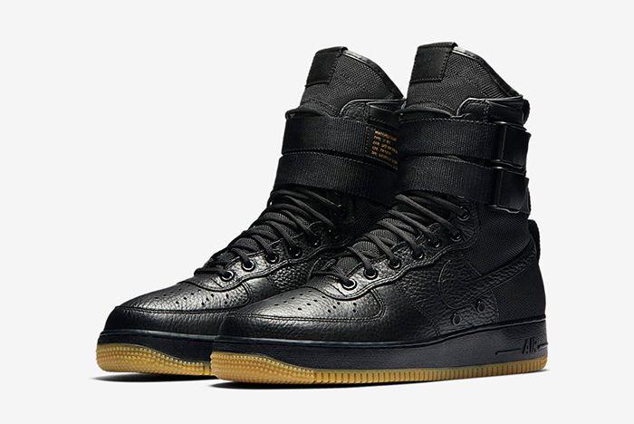 Nike Sf Air Force 1 Black Gum