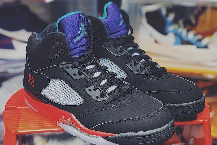 Air Jordan 5 Top 3 Right