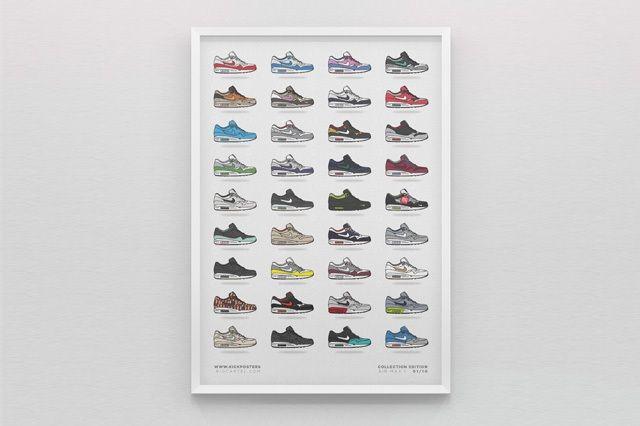 New Range Sneaker Art By Kick Posters 8
