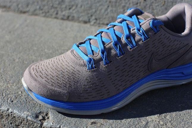 Nike Lunarglide 4 Ext Blue Detail 1