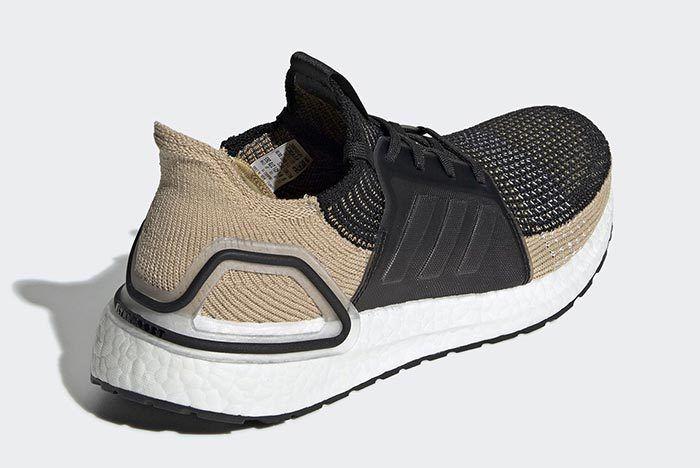 Adidas Ultraboost 2019 Clear Brown Heel Shot 2