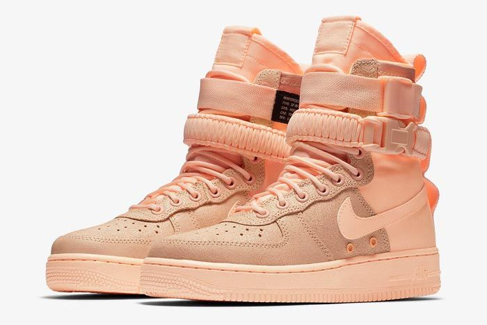 Nike Air Force 1 Crimson Tint