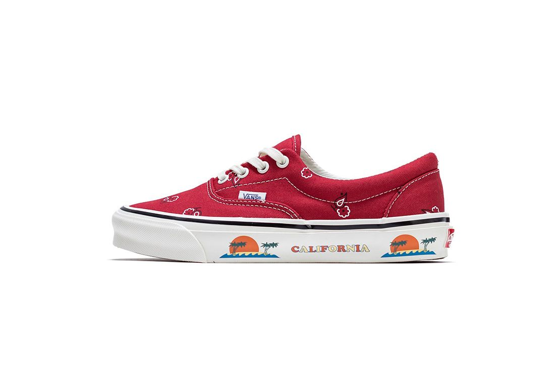 Vans OG Era LX Paisley Red Left