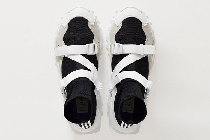 Hyke Adidas Seeulater Black White 1