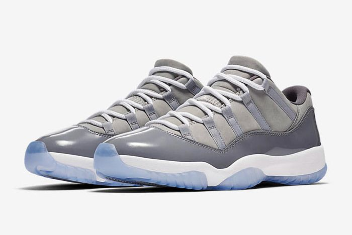 Air Jordan 11 Cool Grey Low 3