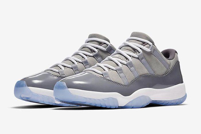 Air Jordan 11 Cool Grey Low 3