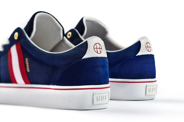 Huf Pepper Pro Navy Heel Profile 1
