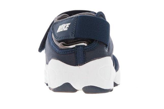 Nike Air Rift Navy Heel 1