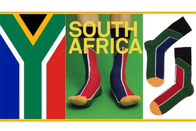 World Cup Socks Wong Wong South Africa 1