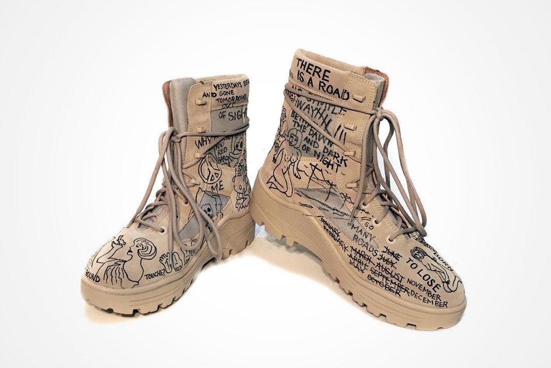 John Mayer Yeezy Boot 1