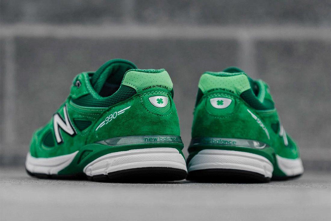 New Balance 990 V4 Green 2