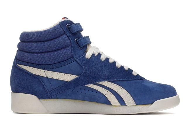 Reebok Freestylehi Vintage Blue Outer 1