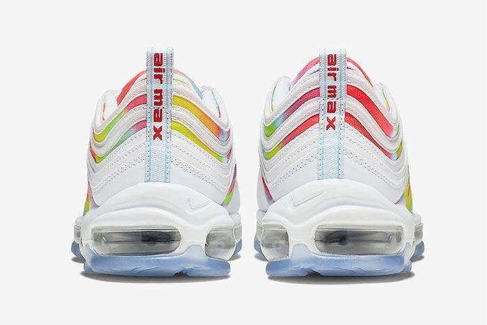 Nike Air Max 97 Tie Dye Heel