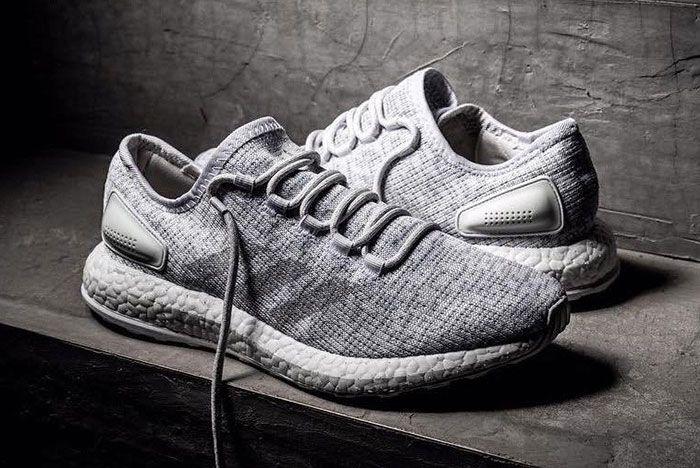 New Adidas Purebost Grey 2