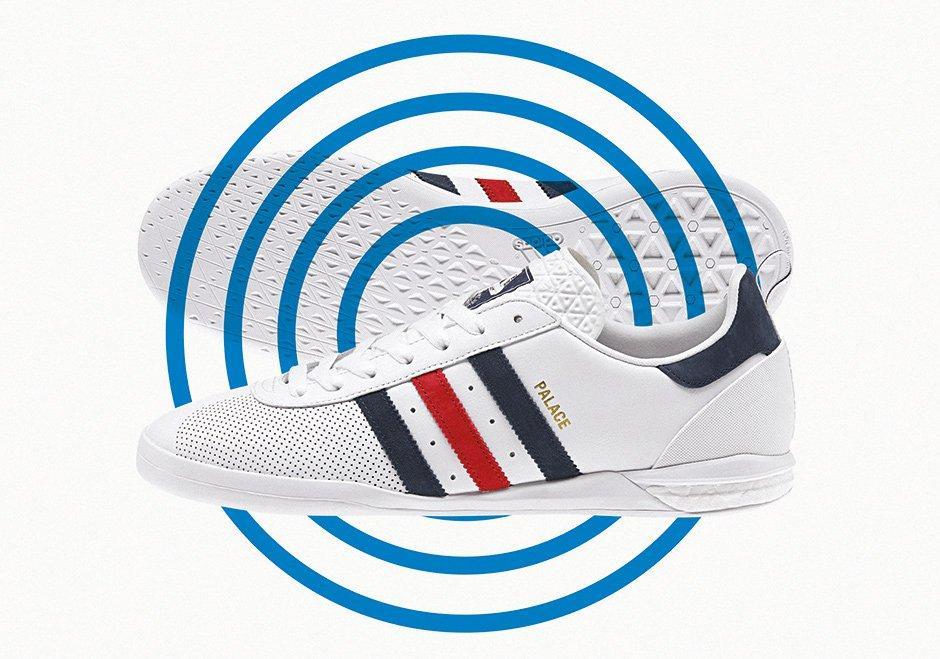 Palace X Adidas Indoor Boost 3
