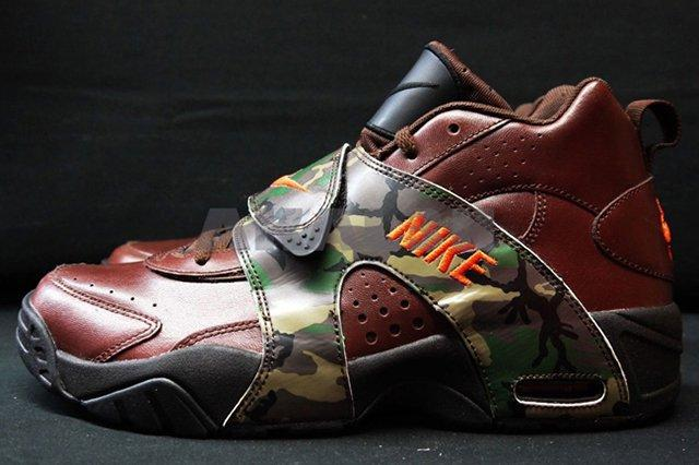 Nike Air Veer Brown Leather Camo