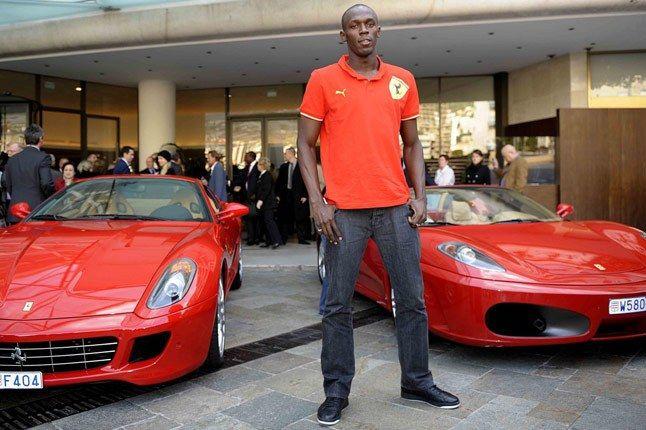 Usain Bolt Ferrari F430 Image006 1
