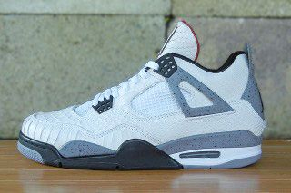 Jbf Customs Air Jordan 4 White Python Cement Thumb