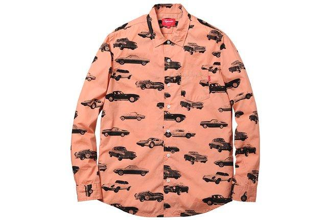 Supreme Car Shirt 1