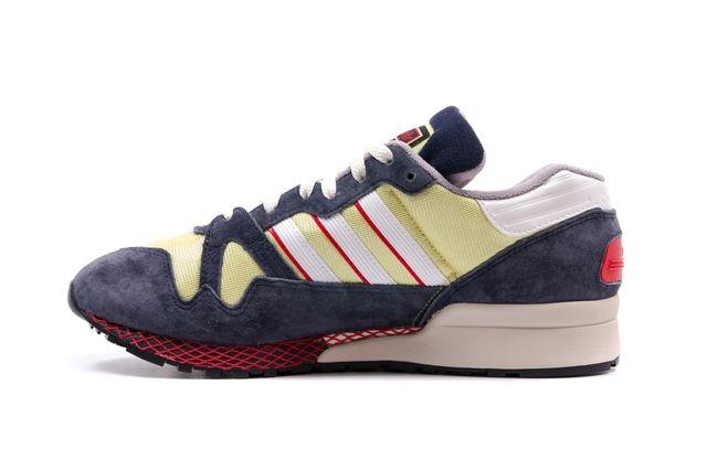Adidas Zx 710 Navy Yellow 4