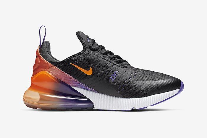 Nike Air Max 270 Purple Orange Medial