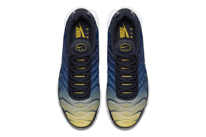 Nike Air Max Plus Gradient Blue Yellow 4