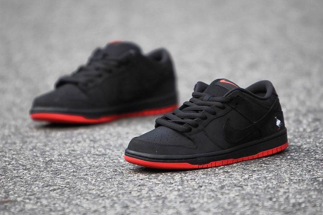 Nike Dunk Low Sb Black Pigeon10