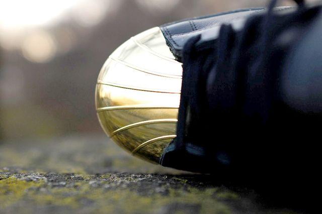 Adidas Originals Superstar 80 Metal Toe Black Gold 7