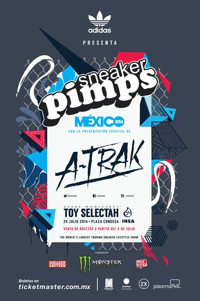 Sneaker Pimps Mexico Banner 1